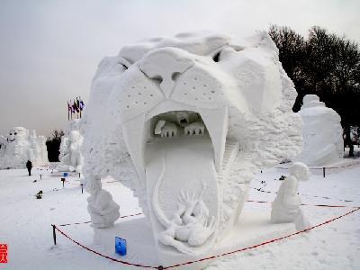 第22届中国哈尔滨太阳岛国际雪雕艺术博览会——原创作品图片