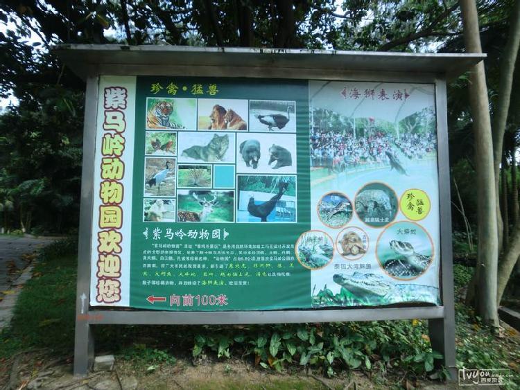 【3路118】紫马岭公园动物园简介
